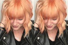 """Is the """"Blorange"""" Hair Trend the New Rose Gold?"""