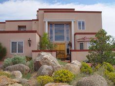 Exterior Custom Home Views - Lee Michael Homes Custom Builders in Albuquerque NM Custom Builders, New Classroom, Dream Homes, Custom Homes, Nest, Brick, Palette, Exterior, House Design
