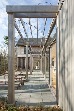Original Architecture Hidden Amongst Trees and Rocks: Miller/Carr Residence