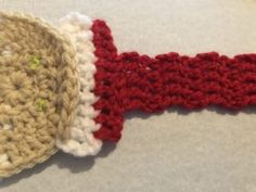 Santa Towel Holder – Stitched Pixels