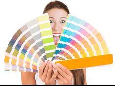 A designers color palette.