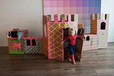 cardboard castle / rowhousenest