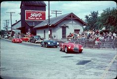 John von Neumann Porsche in third place @ Elkhart Lake in 1952 Sports Car Racing, Road Racing, Sport Cars, Race Cars, Auto Racing, John Von Neumann, Le Mans, Ferrari, Automobile
