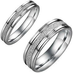 Aroncent 1 Paar Herren Damen Ringe, Exquisit Glänzend San... https://www.amazon.de/dp/B01EZI1X1M/ref=cm_sw_r_pi_dp_--ovxbEJXKKE5
