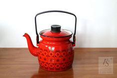 FINEL KEHRÄ enamel coffee pot, 0,6 Ltr - FourSeasons.fi Scandinavian Design, Enamel, Coffee, Pattern, Kaffee, Vitreous Enamel, Patterns, Enamels, Cup Of Coffee