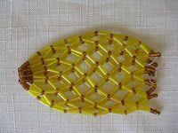 Carmela BISCUIT Spot: Beaded Easter Egg Shell