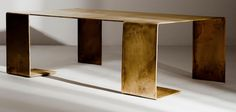 Brass table, The Haas brothers
