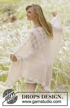 Ravelry: 169-29 Sweet Leaves pattern by DROPS design