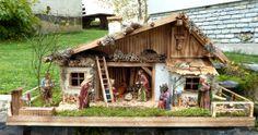 Alpenländische Weihnachtskrippe -    #Weihnachtskrippe #Nativity #Nacimiento #Belén