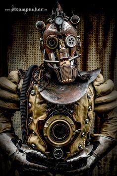 Steampunk Time Traveller by Steamworker