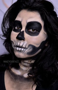 Skull Makeup Tutorial https://youtu.be/Wp8t23E5eY0