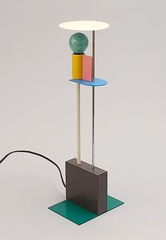 Table-lamp Piccadilly design Gerard Taylor 1982 executed by Memphis / Milano Italy