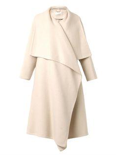 Chloe double-faced alpaca blend coat