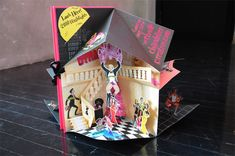 Chandelier Creative Holiday Pop-up Card (via FPO)