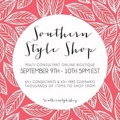 Friday night we will be hanging out at one of our favorite places Southern Style sale starts at 5PM http://ift.tt/2bNK5Qo