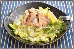ŐRÜLTEN  JÓ ÉTELEK : Makréla és saláta avagy