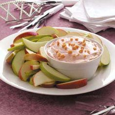 Nutty Caramel Apple Dip (love the addition of apple butter)