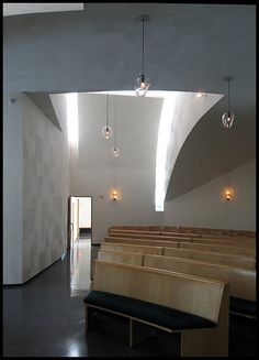 Chapel of St. Ignatius. Seattle University. Seattle, Washington. 1994-7. Steven Holl