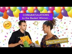 Delivering the Anniversary Basket: And the WINNER is...      #giftbasket #baskets #celebration #anniversary #grateful #fun #giftcards #winner