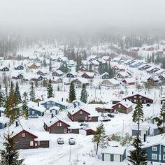 Branäs Skidanläggning, Sysslebäck, Värmland Sweden. Ski slopes for families and tougher slopes for the more experienced.#sweden