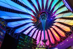 Philips Color Kinetics - Sony Center, Berlin, Germany