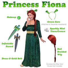 plus size princess fiona costume from shrek plus size and supersize halloween costume - Semi Pro Halloween Costume