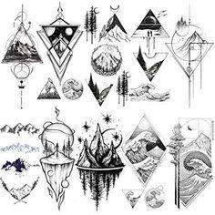 Swag Tattoo, Dreieckiges Tattoos, Cute Tattoos, Body Art Tattoos, Sleeve Tattoos, Tattos, Line Art Tattoos, Wing Tattoos, Tattoos Skull