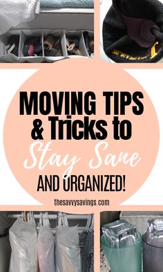 Moving Tips to Keep you Sane, Stay Organized & Save Money - : The best moving tips & tricks to keep you sane & organized. Easy packing hacks for moving from an apartment or house. How to move on a budget & save money. College Packing Tips, Suitcase Packing Tips, Packing Tips For Vacation, Packing To Move, Packing Hacks, Travel Packing, Europe Packing, Traveling Europe, Vacation Deals