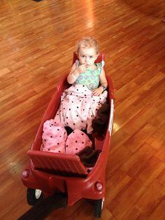 Every princess needs her carriage. :-)