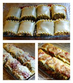 The best lasagna roll-ups ever! This is one of those fantastic recipes that you can whip up in no time!