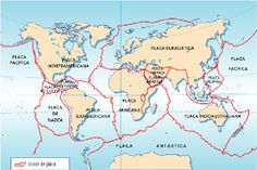 Placas Tectonicas Geography, Fun Facts, Diagram, 1, Projects, Terra, Teacher, Fitness, People