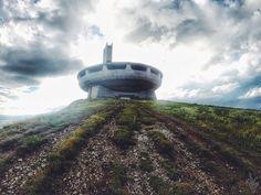 The Buzludzha Monument / Bulgaria // Photograph by Malene Anna Smidth