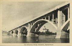 New Broadway Bridge, Saskatoon, Saskatchewan. | saskhistoryonline.ca