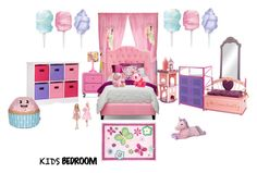 """""""kids room"""" by applelicious on Polyvore featuring interior, interiors, interior design, home, home decor, interior decorating, Disney, Levels Of Discovery, Baxton Studio and Oopsy Daisy"""
