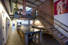 TriBeCa converted warehouse loft.