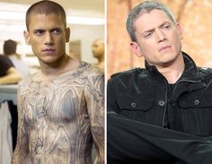 'Prison Break' Cast - Then & Now | TooFab Photo Gallery