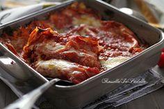 Lasagne con pomodoro e mozzarella, ricetta veloce
