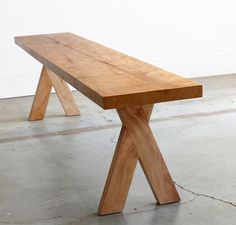 A contemporary twist on the classic, the Picnic Modern Bench utilizes interlocking joints inspired by Japanese woodworking to create a unique piece for cas