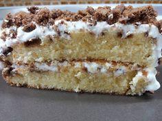 ΚΕΙΚ ΒΑΝΙΛΙΑΣ ΜΕ ΜΠΙΣΚΟΤΑ Greek Desserts, Greek Recipes, Tiramisu, Cupcake Cakes, Biscuits, Cheesecake, Dessert Recipes, Food And Drink, Lemon