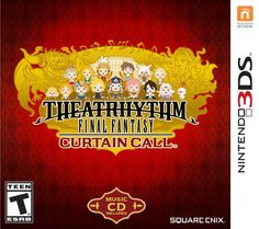 *NEW & SEALED* 3DS THEATRHYTHM FINAL FANTASY CURTAIN CALL LIMITED EDITION 3DS