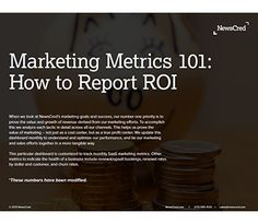 Marketing Metrics How to Report ROI Content Marketing Resources Marketing Digital, Marketing And Advertising, Online Marketing, Content Marketing Strategy, Marketing Communications, Social Media Marketing, Marketing Information, Pinterest For Business, Events