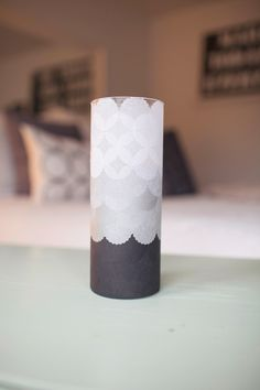 I present to you, DIY project meets West Elm style decor meets happy crafting time with my bff Jenna. Look what we did :)  Long story short, I've been dying to make something not only wedding-worthy but something you could use for home decor, and this idea swooshed on in to my little mind. I wasn't sure initially how these tissue luminaries would turn out but the final product really exceeded my expectations. These beauties are now sitting on our fireplace mantle, pretty as can be :) So…