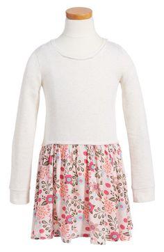 Tucker + Tate Print Skirt Knit Dress (Toddler Girls, Little Girls & Big Girls) available at #Nordstrom