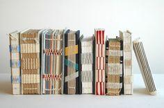 Beautiful Textures in handmade books by Benjamin Reynaert