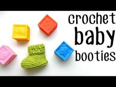 The Parker Crochet Baby Booties - Sewrella
