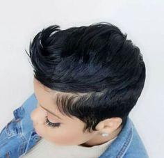 Love Hair, Great Hair, Gorgeous Hair, Beautiful, Short Sassy Hair, Short Hair Cuts, Short Hair Styles, Pixie Cuts, Short Pixie