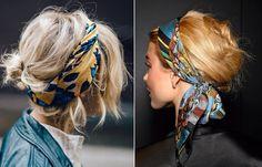 headband hairstyles Fizz and Fade Hair Scarf Styles, Curly Hair Styles, Natural Hair Styles, Bandana Hairstyles, Pretty Hairstyles, Mode Style, Hair Today, Hair Dos, Hair Inspiration