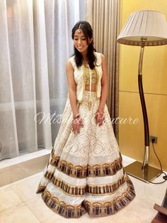 Lehenga for sister of the bride by MischB Couture