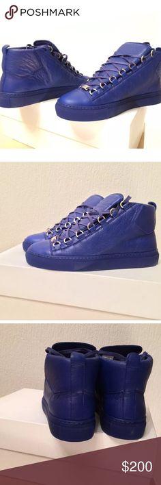 Balenciaga I don't sell through Poshmark. I ship& accept payment through PayPal. If interested contact me. I DONT SELL FAKES OR REPLICAS Balenciaga Shoes Sneakers