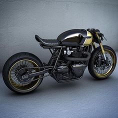 by CAFE RACER | TAG: #caferacergram | Here's another look at the Custom Triumph concept by @ziggymoto #ziggymoto #triumph #triumphofficial #fortheride #caferacer #caferacers # See more on our profile or at facebook.com/caferacers